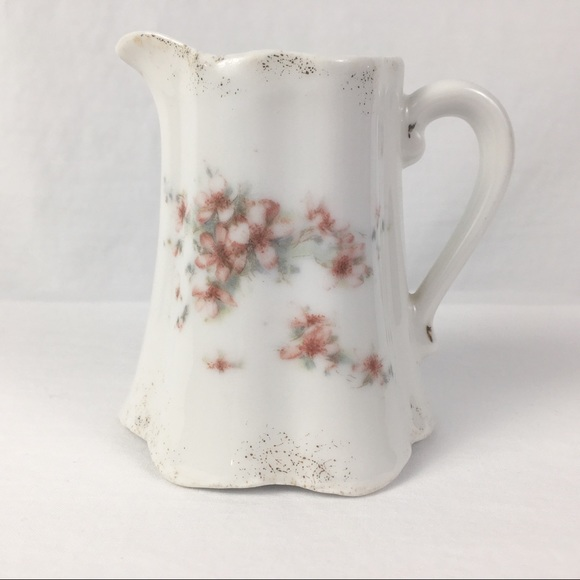 Vintage Hand Painted Creamer Pitcher
